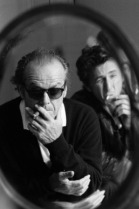 American Actors Jack Nicholson and Sean Penn