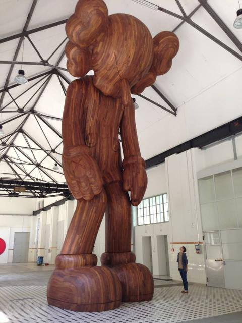 "KAWS ""GISWIL"" Exhibition at More Gallery Preview"