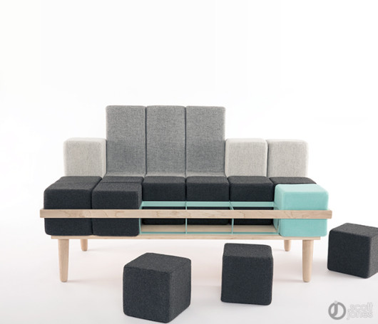Bloc d sofa by Scott Jones