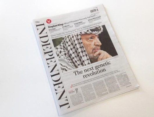 The Independent  New design