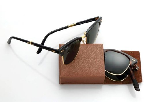 The Ray Ban Folding Clubmaster