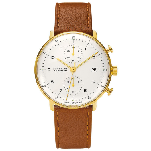 MAX BILL CHRONOSCOPE WATCH BY JUNGHANS