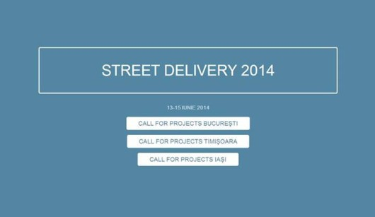 Call for projects Street Delivery 2014